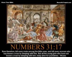 Genocide in the Bible: When has it Ever Been Okay?