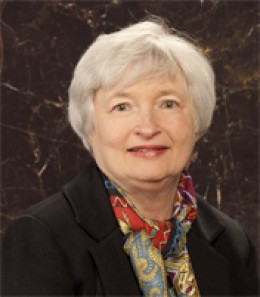 Vice Chair- Janet Yellen