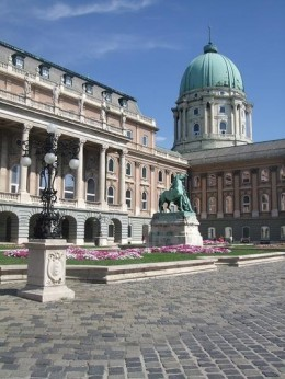 Buda Castle court