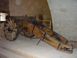 Cannon in Eger Castle
