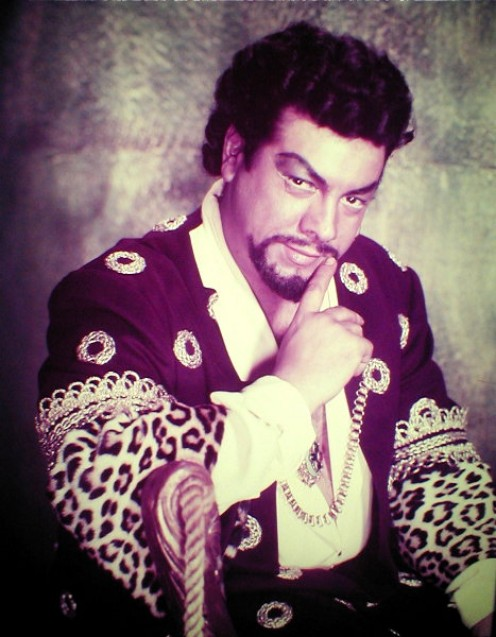 Lanza as Otello
