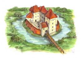 Simontornya Castle, Hungary