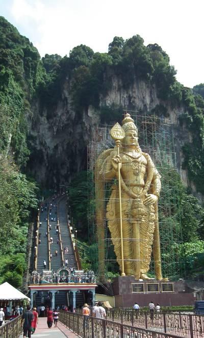 Statue of Lord Murugan