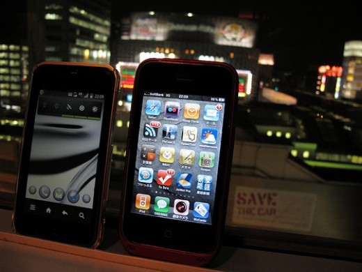 Mobile Smartphone with Apple iOS