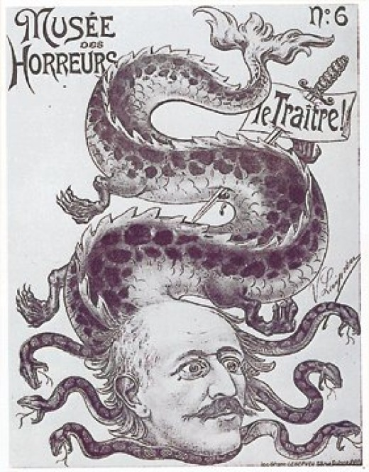 anti-Dreyfus cartoon