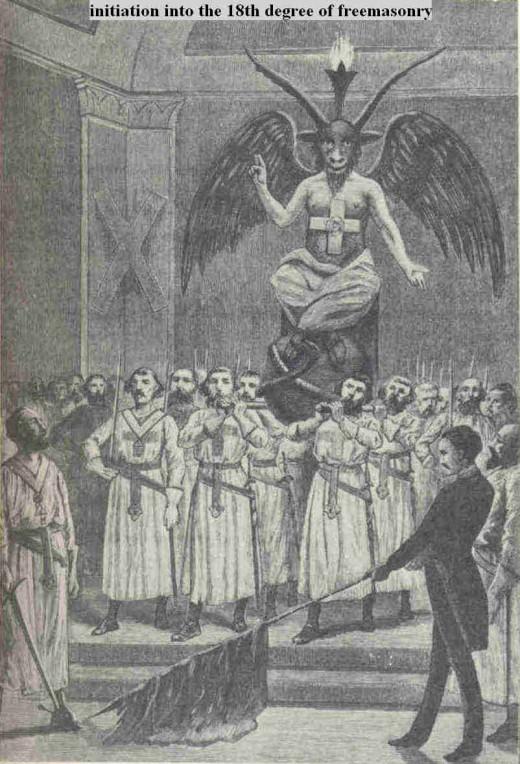 Taxil's imagined Masons