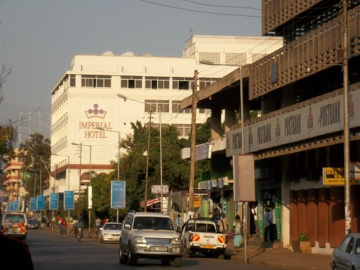 The Imperial Hotel on Kenyatta Avenue