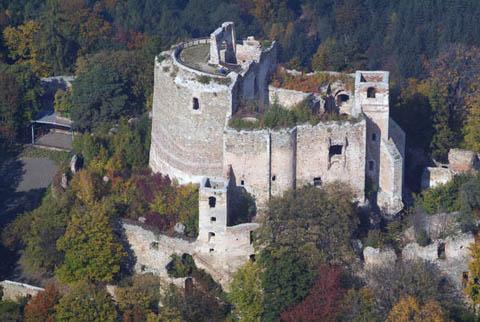 Landsee (Lánzsér) Castle, Austria