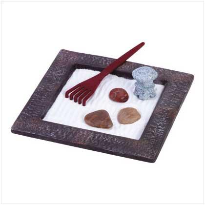 Walk through a Zen Garden on your tabletop.