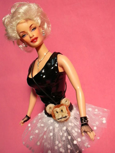 Madonna Doll with Gloves