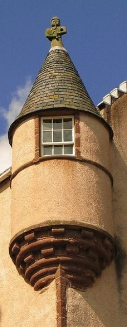 There is said to be a secret room at Fyvie where a former Lady of the house had her remains buried. The room was re-sealed after it was disturbed by workmen and paranormal phenomena started to manifest.