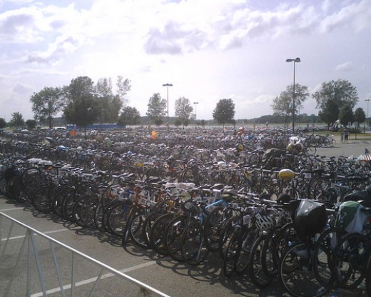 Know where your spot is for a quicker, smoother triathlon transition