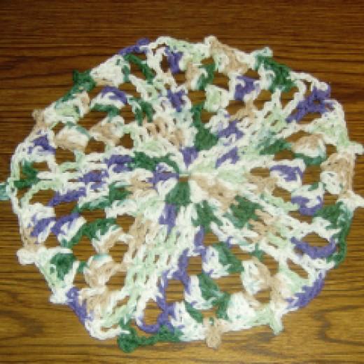 Star Dish Cloth