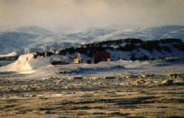 Iceland, origins of the saga of Egil Skallagrimsson set down by Snorri Sturluson