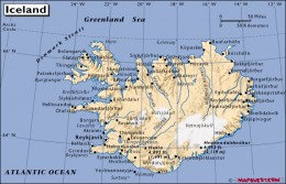 Iceland, its rocky shores hewn from volcanic rock, moulded by sea, wind and glacial ice