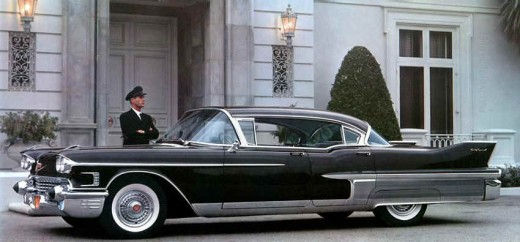 A nightmare! 1958 Fleetwood Sixty Special.