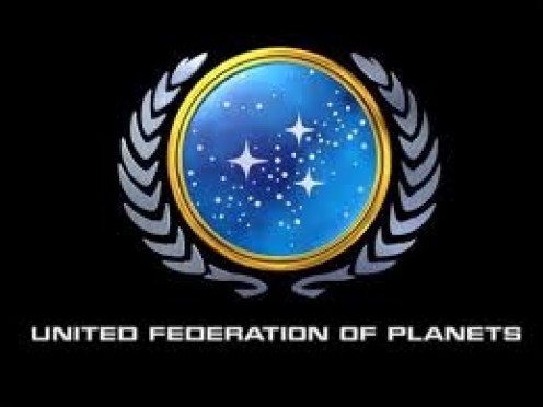 Logo for the United Federation of Planets