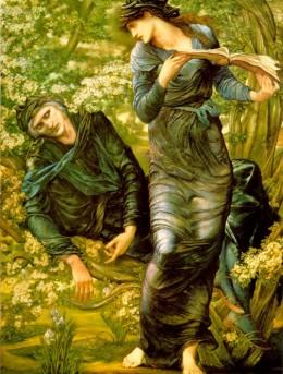 The Beguiling of Merlin-Edward Burne-Jones