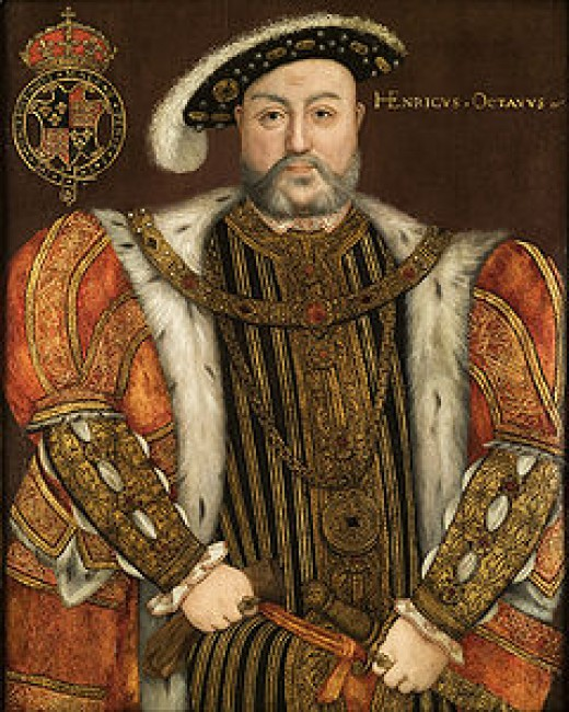 Portrait of Henry VIII attributed to Hans Holbein the Younger