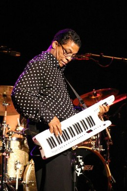 Herbie Hancock, live in 2006.  Image courtesy Sjaak & Wikimedia Commons.