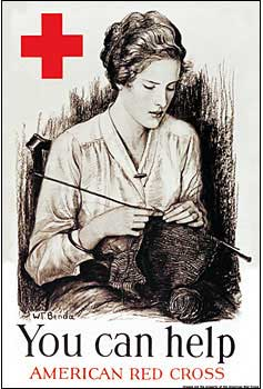 Red Cross Knitting