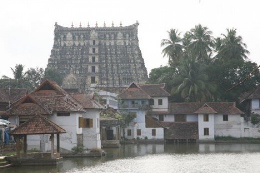 Sri Anantha Padmanabhaswamy Temple in Trivandrum