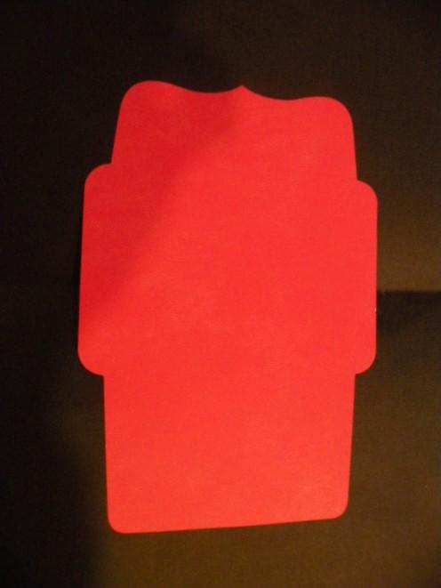 Envelope cutout