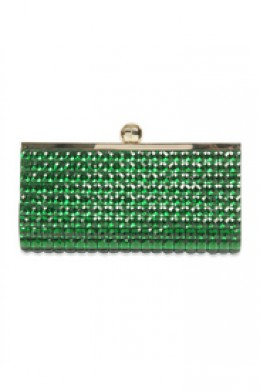 emerald Anastasia Clutch by Kate Spade New York Accessories