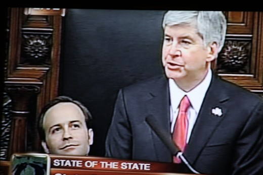 Governor Rick Snyder's State of the State Address -1-18-12