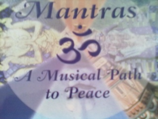 This is the book of Henry Marshall with a CD in it so you can learn to chant Mantras yourself.