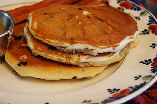 World Famous Blueberry Pancake Recipe