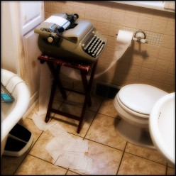 """A """"HUBBER'S REST ROOM,"""" I THREW THIS ONE IN FOR RESPECT TO ALL OF OUR HUBBERS."""