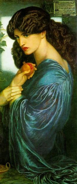 Persephona by Dante Gabriel Rosetti.