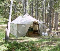 How to Build a Portable Hunting Camp