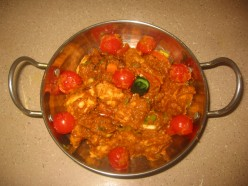 Balti Chicken Recipe.