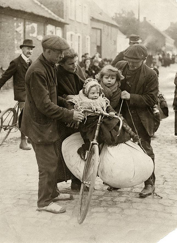 Refugees and bicycles