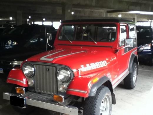 1983 Jeep cj7 Laredo Hardtop.