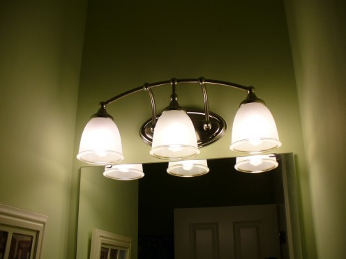 New light fixtures can change the look of a room
