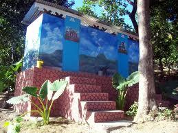 A composting toilet in Sans Souci, Haiti