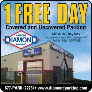 Anchorage Diamond Airport Parking Coupon