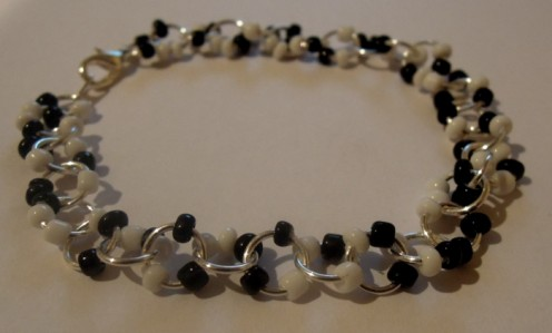 Finished Dotty Bracelet