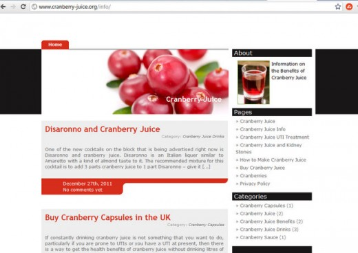 This site was made quickly and simply but updating an existing WordPress theme by 'BrightCherry'