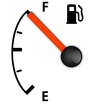 Calculating your car's gas mileage regularly will let you know if it decreases and can be a warning sign of low tire pressure, among other things.