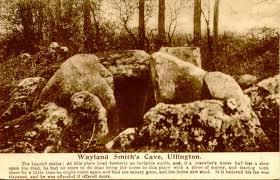 Wayland's smithy at Uffington, White horse country