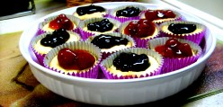 Recipe for Beautiful Delicious Cheesecake Tarts
