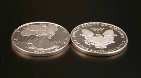 .999% Pure Silver Dollars