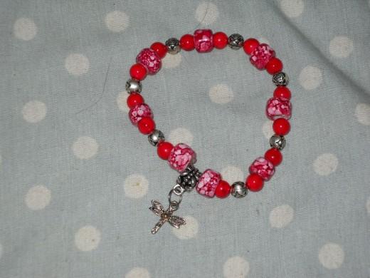 Handmade Bracelet with Charm