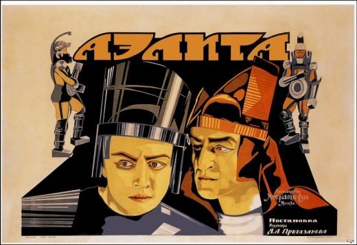 Aelita 1924 poster