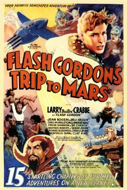 Flash Gordon's Trip to Mars (1938) poster