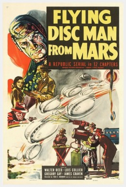 Flying Disc Man from Mars - poster